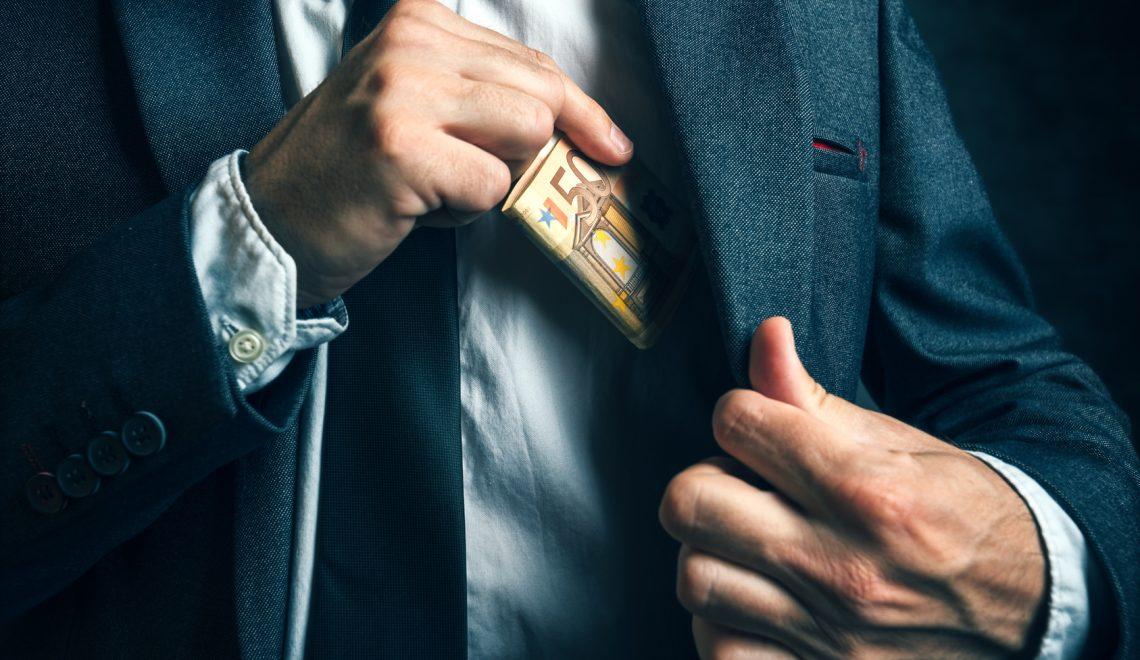 Korruption in Firmen: Öfter mal die Hand aufhalten