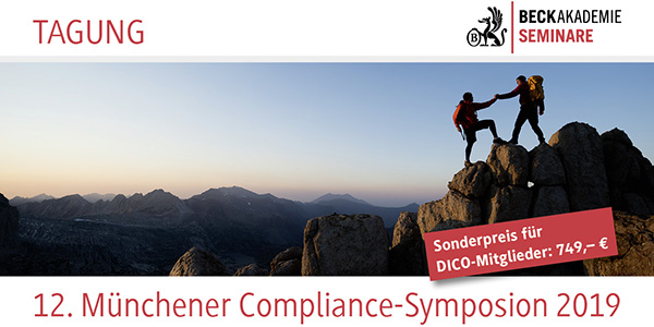 12_Muenchener Compliance-Symposion 2019_DICO_600x300