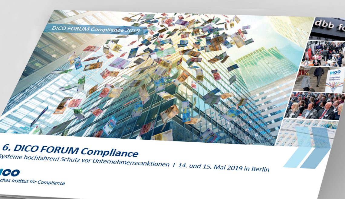 Booklet zum DICO FORUM Compliance 2019