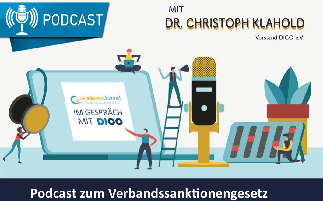 Podcast mit Dr. Klahold zum Verbandssanktionengesetz