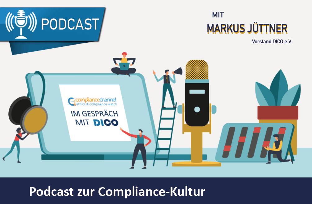 Podcast: Compliance-Kultur und kriminogene Verbandsattitüde mit Markus Jüttner